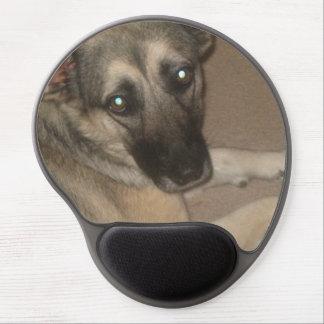 """Puddin' "" the German Shepherd Mousepad Gel Mouse Pad"