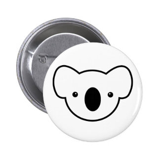 Pudding the Koala 6 Cm Round Badge