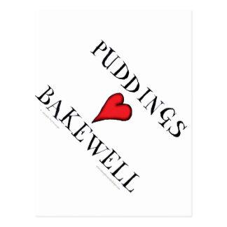 Puddings love Bakewell, tony fernandes Postcard