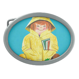 Puddles of Fun Belt Buckle