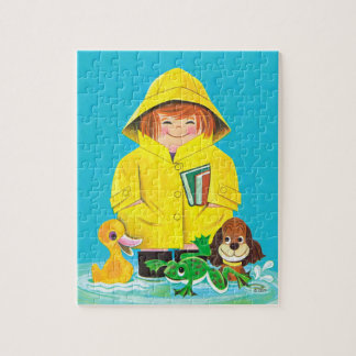 Puddles of Fun Jigsaw Puzzle