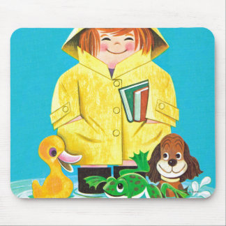 Puddles of Fun Mouse Pad