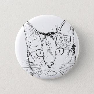 Puddy Cat 6 Cm Round Badge