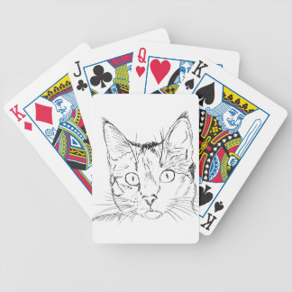 Puddy Cat Bicycle Playing Cards