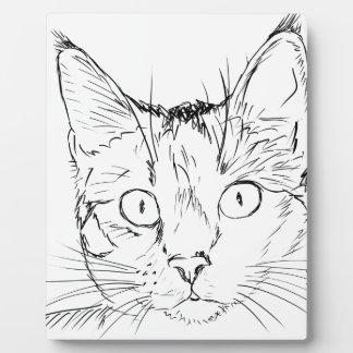Puddy Cat Plaque