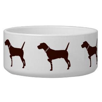 Pudelpointer Dog Bowl