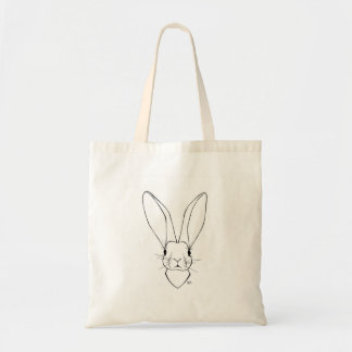 Pudgy Bunny Tote