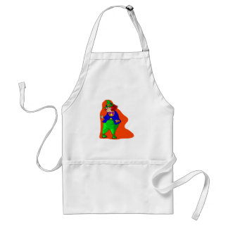 Pudgy Clown Aprons