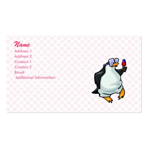 Pudgy Penguin Double-Sided Standard Business Cards (Pack Of 100)