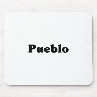 Pueblo Classic t shirts Mousepads
