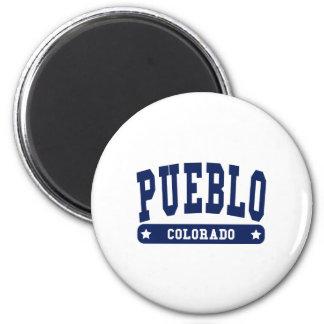 Pueblo Colorado College Style tee shirts Refrigerator Magnet