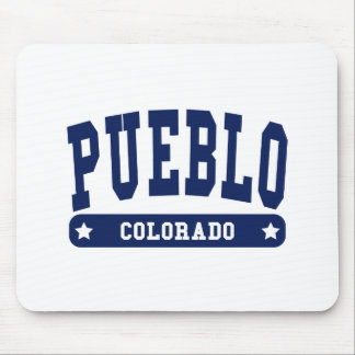 Pueblo Colorado College Style tee shirts Mouse Pads