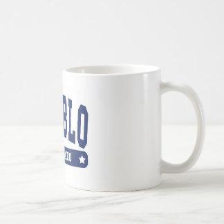 Pueblo Colorado College Style tee shirts Coffee Mug