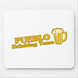 Pueblo Drinking Team tee shirts Mouse Pad