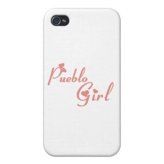 Pueblo Girl tee shirts iPhone 4/4S Cases