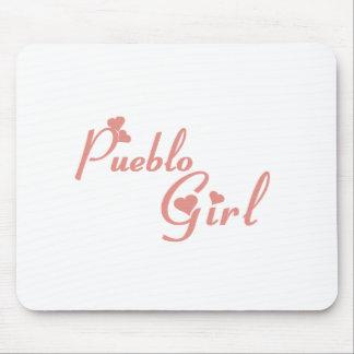 Pueblo Girl tee shirts Mouse Pad