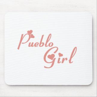 Pueblo Girl tee shirts Mousepads