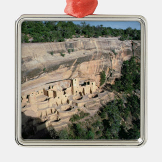 Pueblo Indian cliff dwellings Christmas Ornament