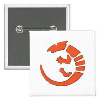Pueblo Lizard - Southwest Indian Design Buttons