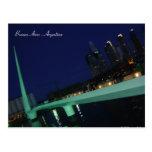 Puente de la Mujer, Buenos Aires, Argentina Postcard