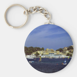 Puerto de Soller, Mallorca, Spain Key Ring