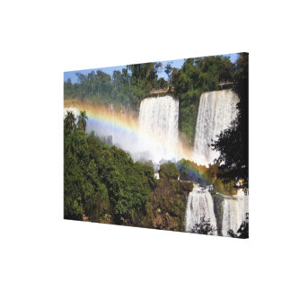 Puerto Iguazu, Argentina. The breathtaking Canvas Print