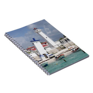 Puerto Morelos Lighthouse Notebook