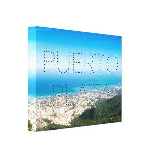 Puerto Plata Cityscape Canvas Print