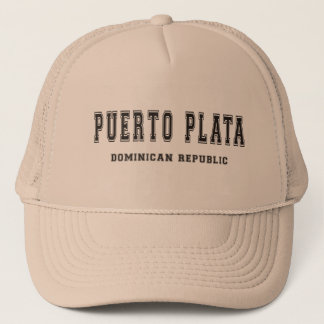 Puerto Plata Dominican Republic Trucker Hat