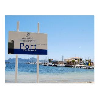 Puerto Pollensa Port de Pollenca Postcard