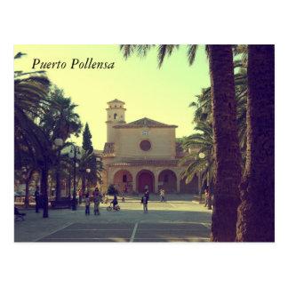 Puerto Pollensa Postcard