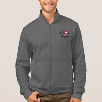 Puerto Rican-American Shield Flag Jacket