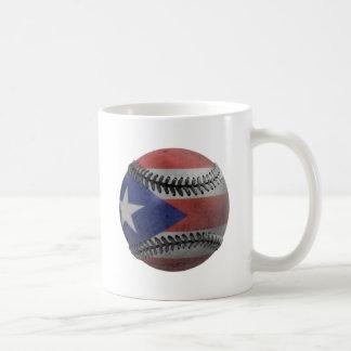 Puerto Rican Baseball Basic White Mug