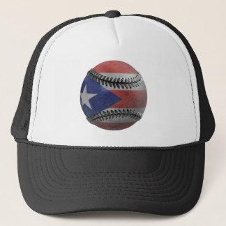 Puerto Rican Baseball Trucker Hat