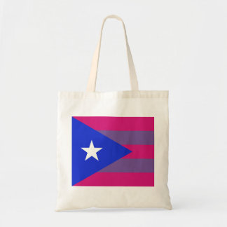 Puerto Rican Bi Pride Bisexual LGBT tote bag