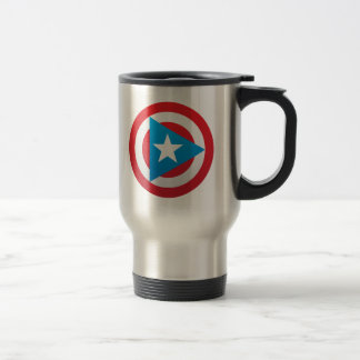Puerto Rican Captain Steel Mug
