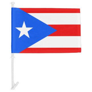 Puerto Rican car window flag   Puerto Rico pride Car Flag