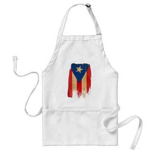 Puerto Rican Flag Aprons