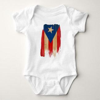 Puerto Rican Flag Baby Bodysuit