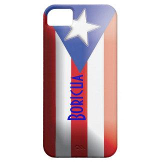 Puerto Rican Flag Boricua Case iPhone 5 Cover