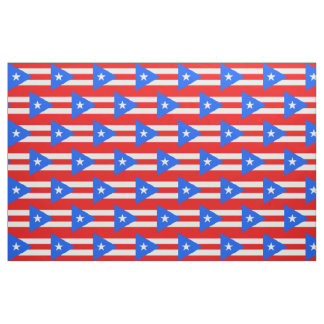 Puerto Rican Flag fabric