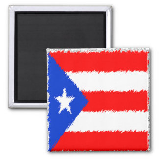 Puerto Rican Flag Magnet