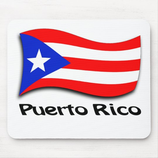 Puerto Rican Flag Mouse Mat