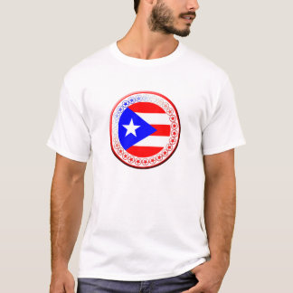 Puerto Rican Flag Seal T-Shirt