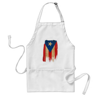 Puerto Rican Flag Standard Apron