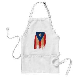 Puerto Rican Flag Standard Apron