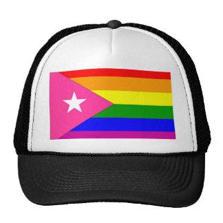 Puerto Rican Gay Pride Flag Trucker Hat