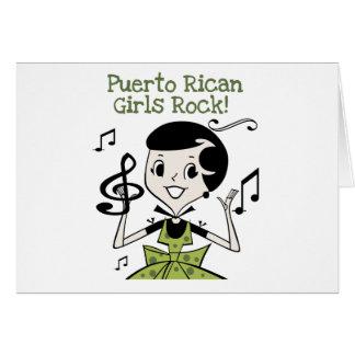 Puerto Rican Girls Rock Card
