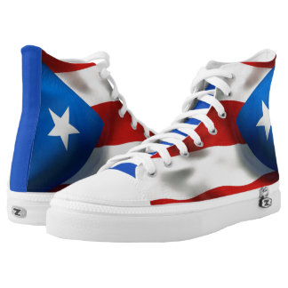 Puerto Rican Pride High Tops