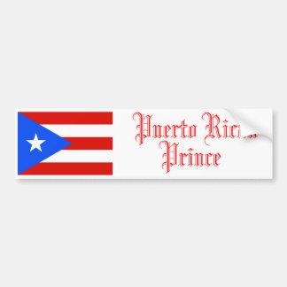 Puerto Rican Prince, Bumper Sticker